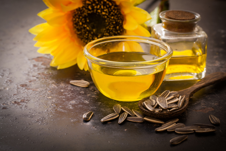 tipuri de ulei, ulei de floarea soarelui