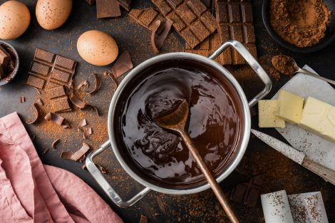 ciocolata topita