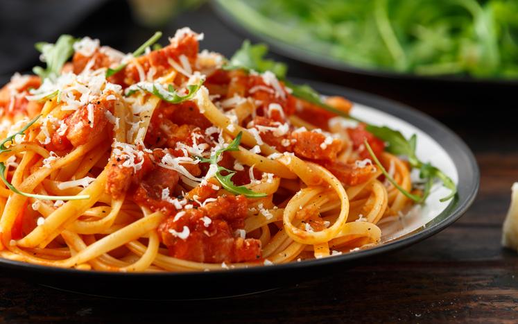 spaghete friptura