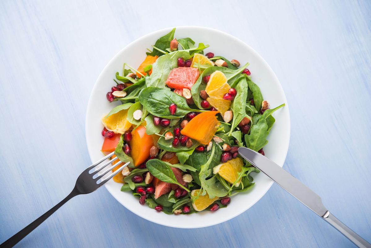 salata cu rodie si fistic