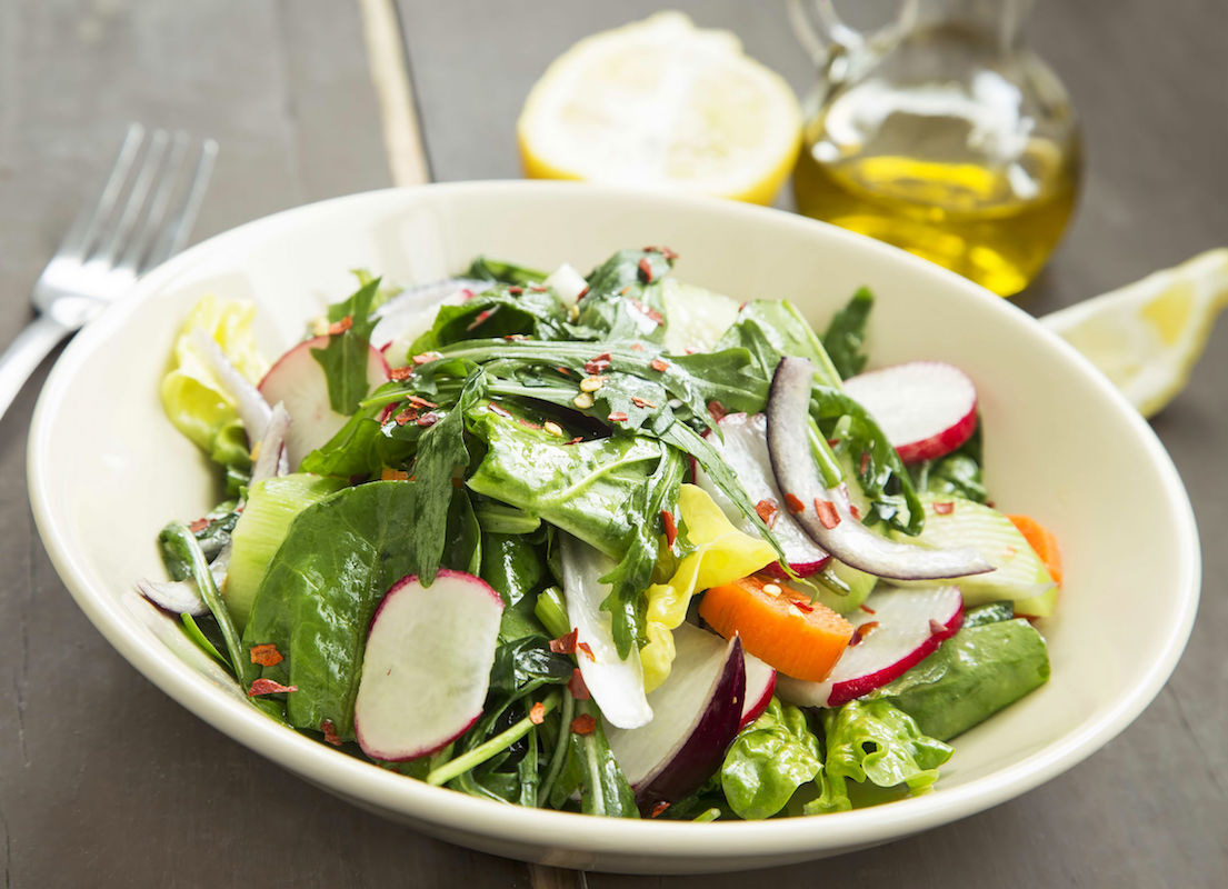 salata picanta de spanac