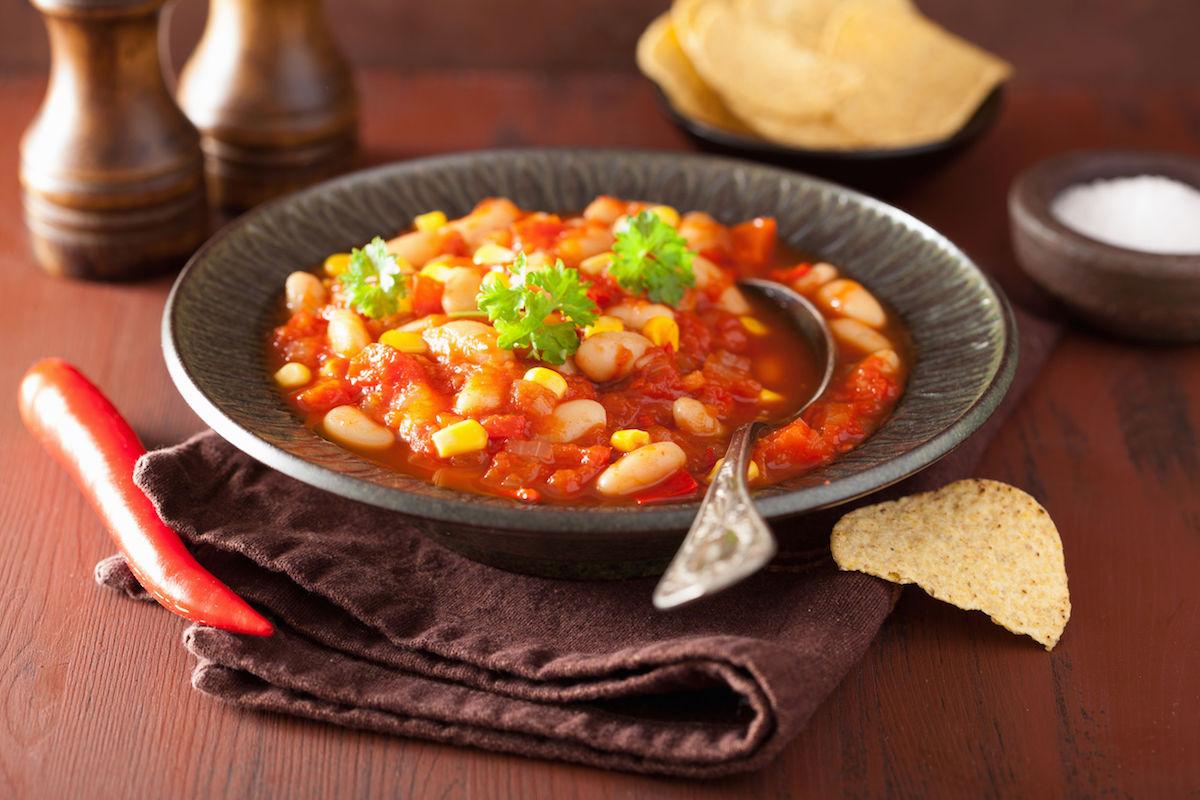 supa mexicana cu fasole