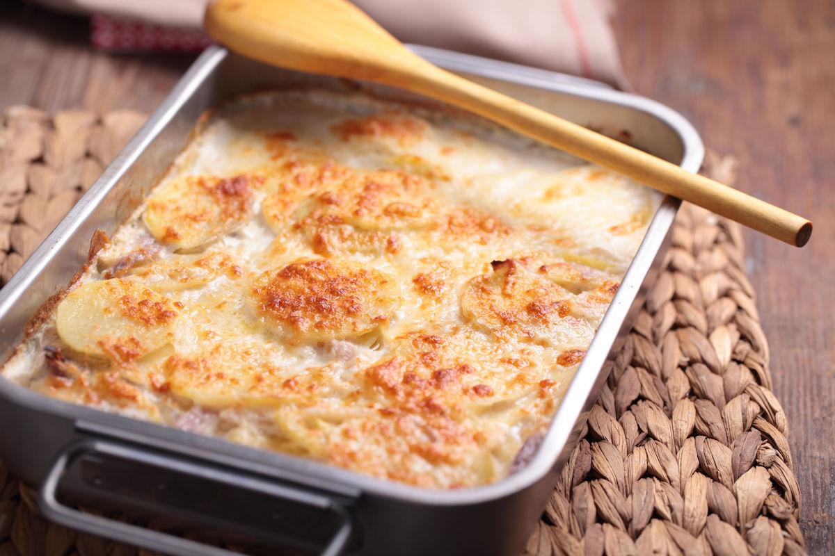 cartofi dauphinoise