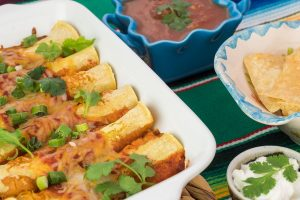 enchiladas de curcan