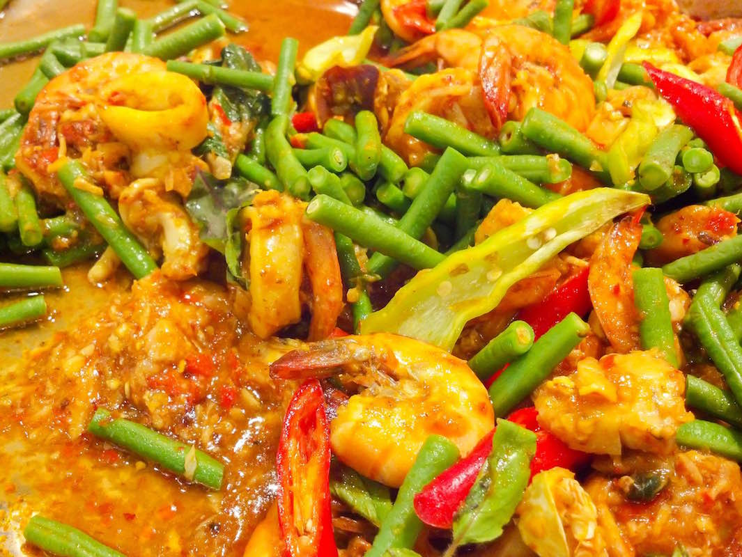 curry cu fasole si ciuperci