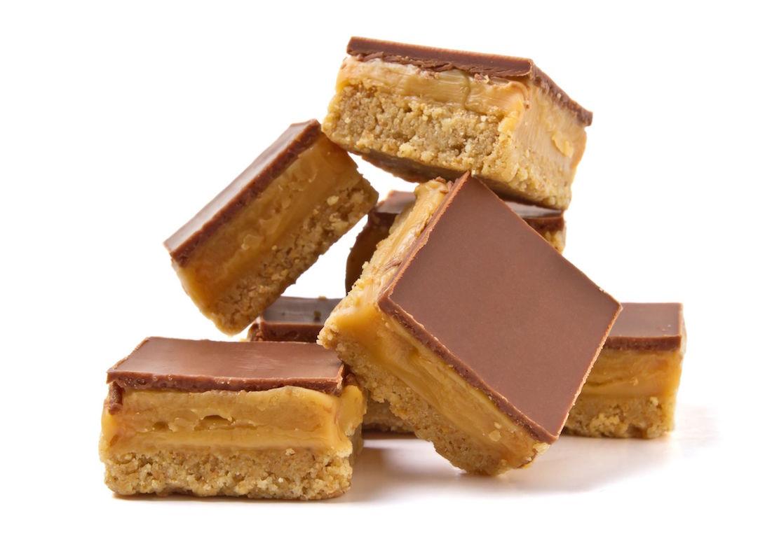 prajitura raw cu caramel