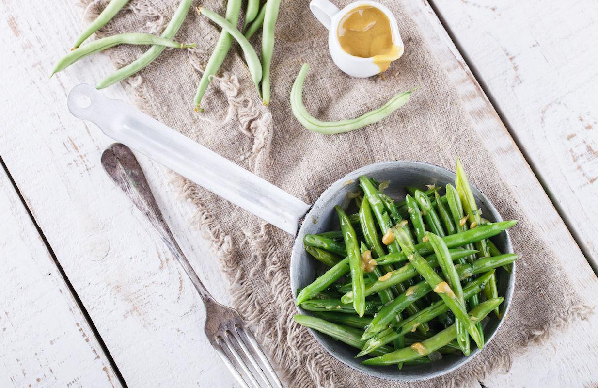 salata cu fasole verde si menta