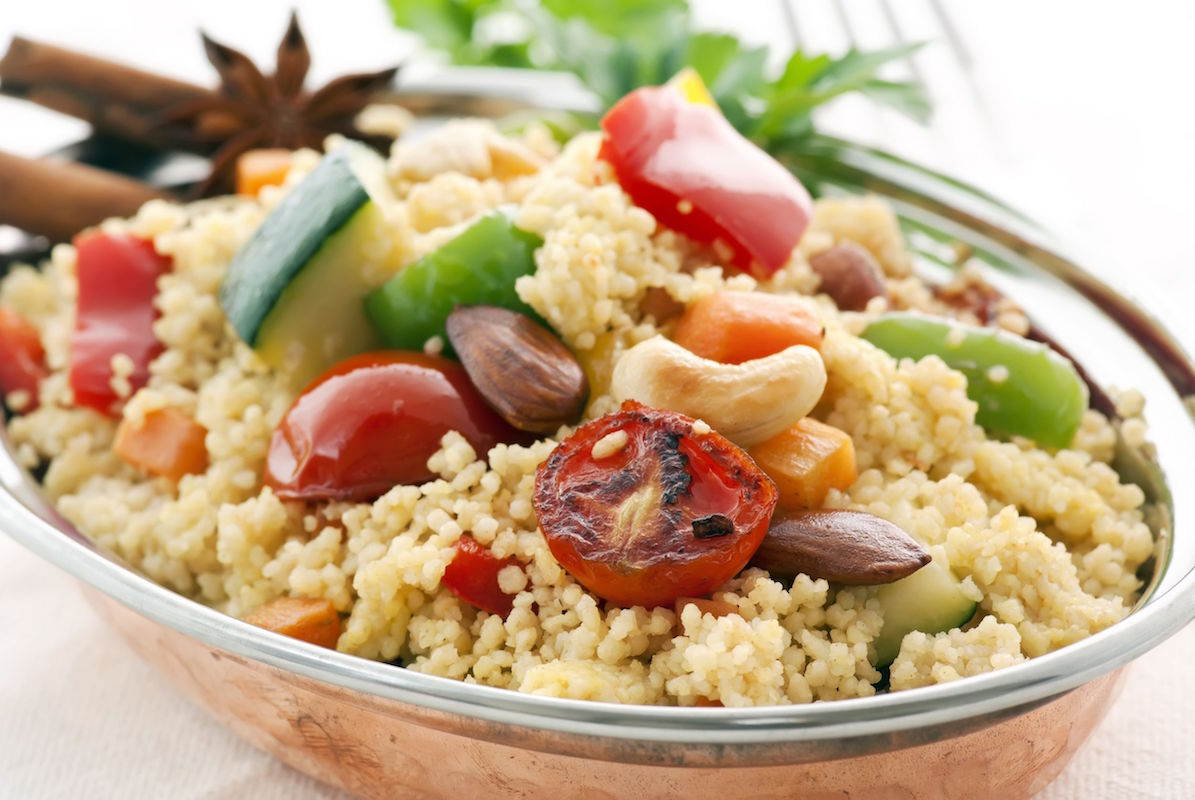 salata cuscus in 10 minute