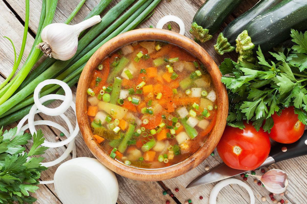supa cu fasole verde