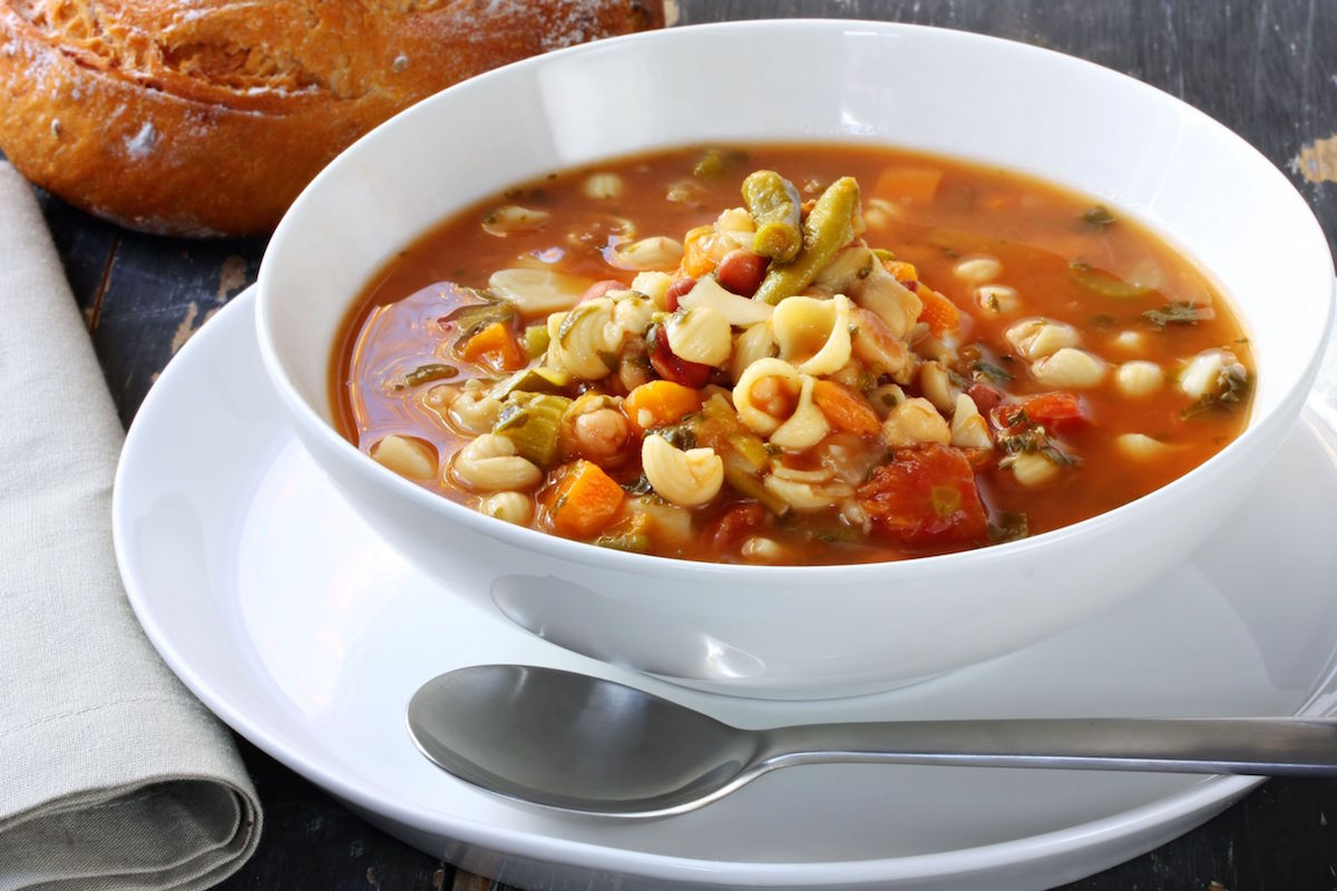 minestrone in 10 minute