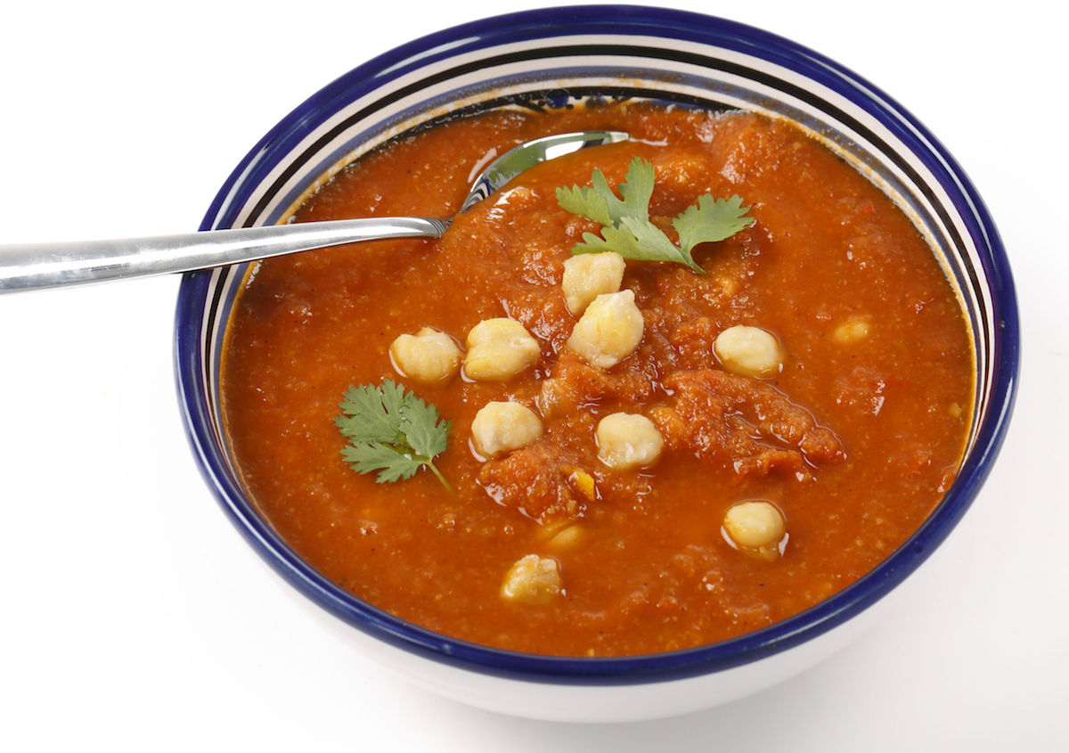 supa picanta cu fasole
