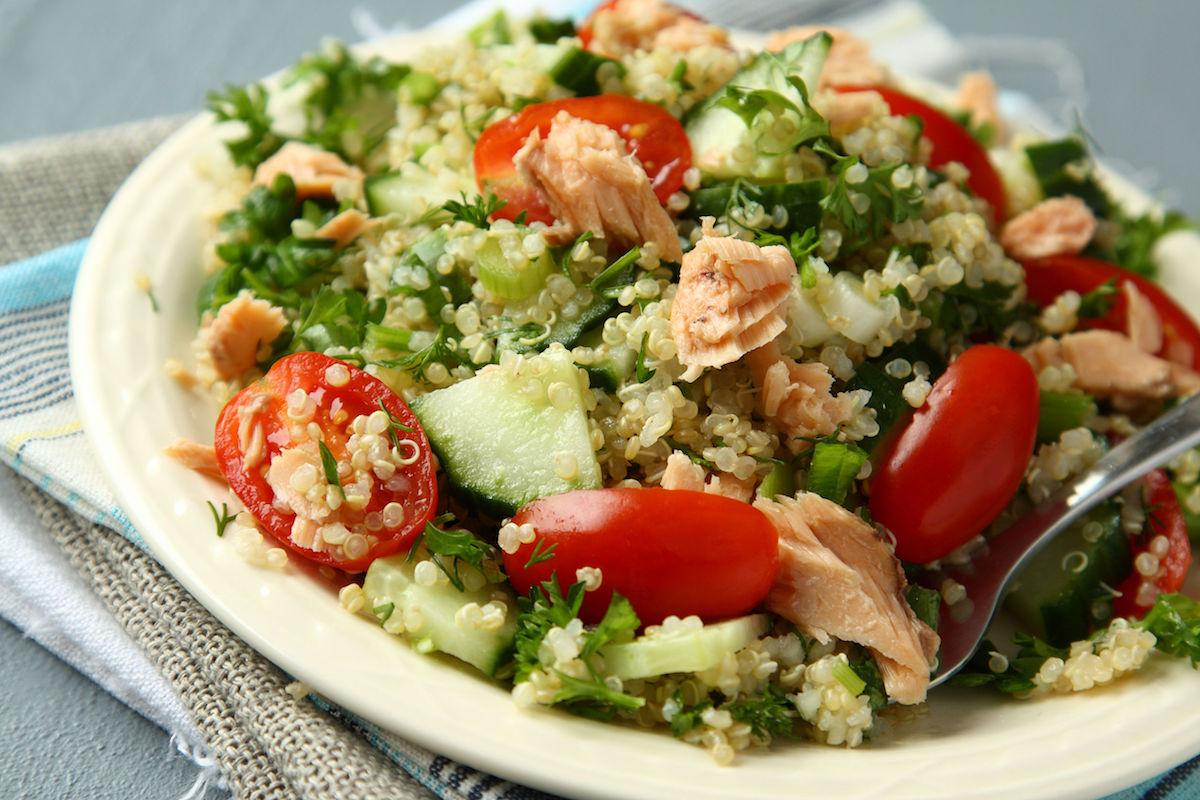 salata picanta cu quinoa