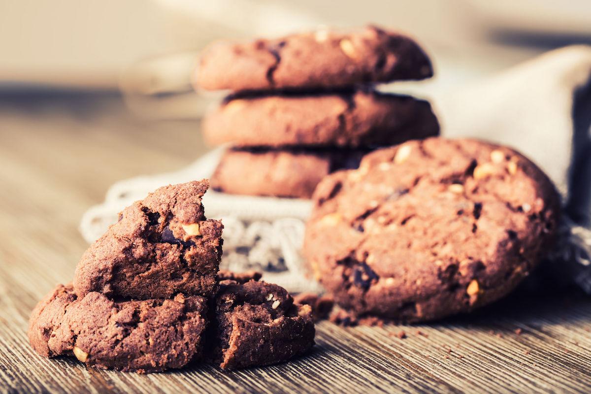 cookie cu ciocolata si ardei iute