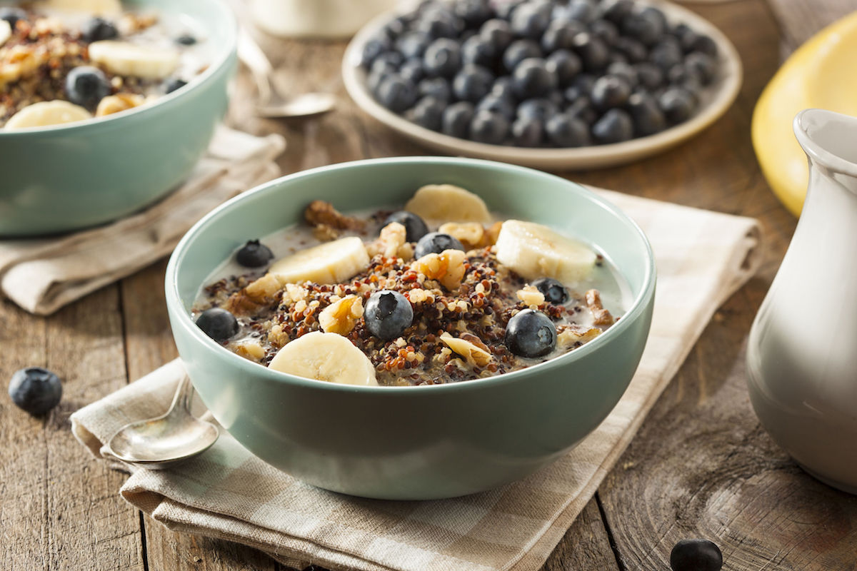 porridge cu quinoa