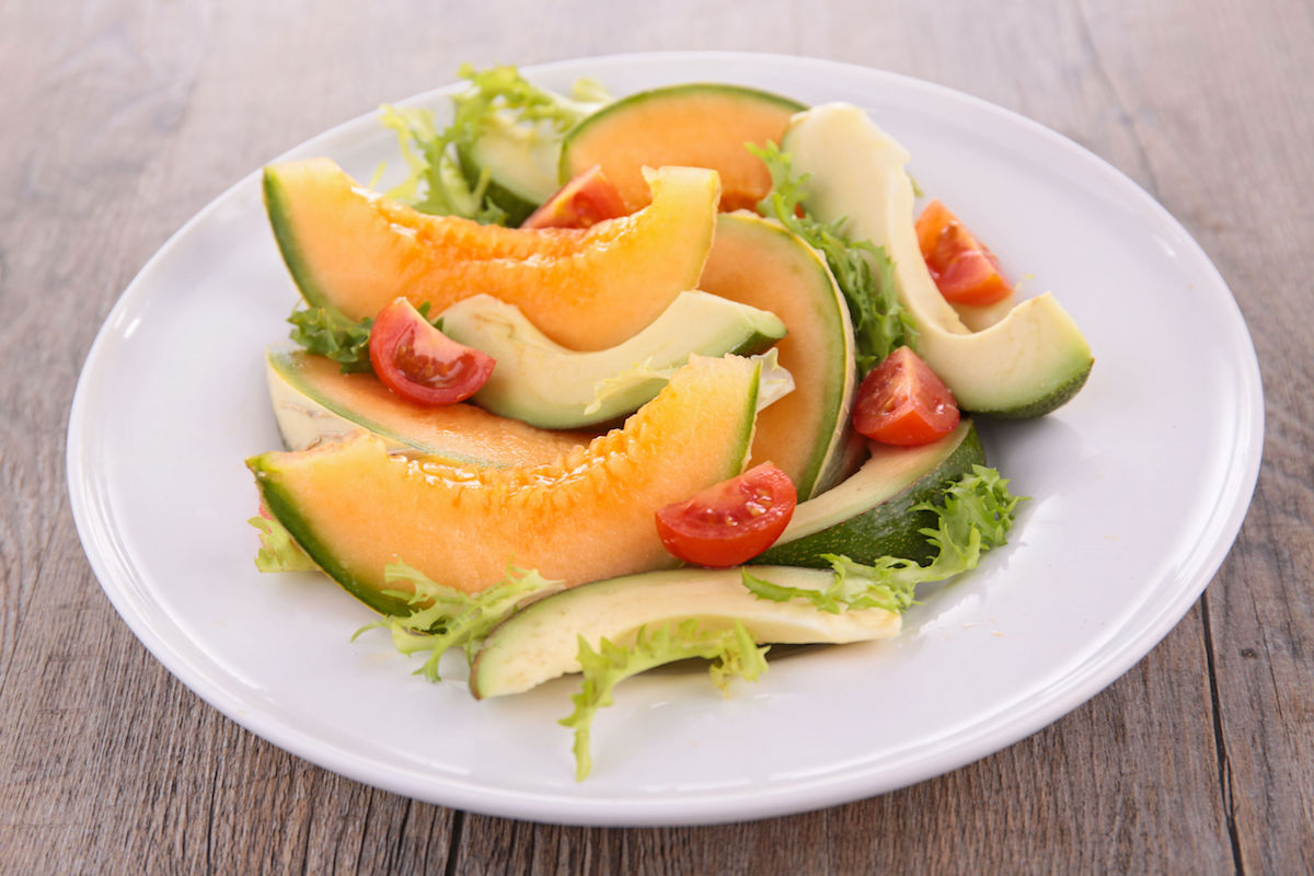 salata de vara cu pepene galben