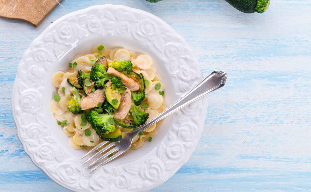 paste cu ton si broccoli
