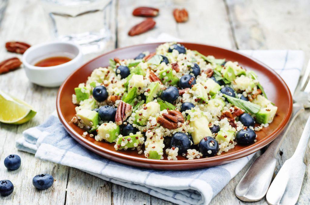 quinoa cu afine