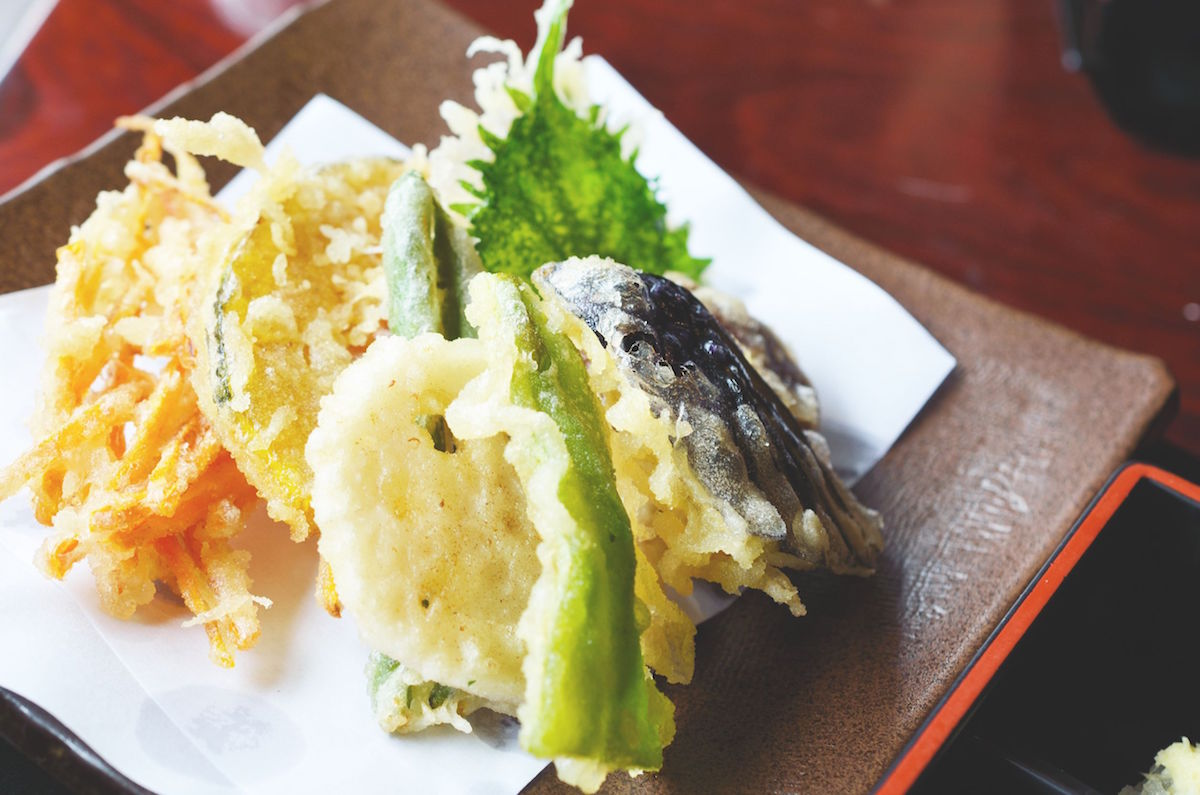 tempura de legume