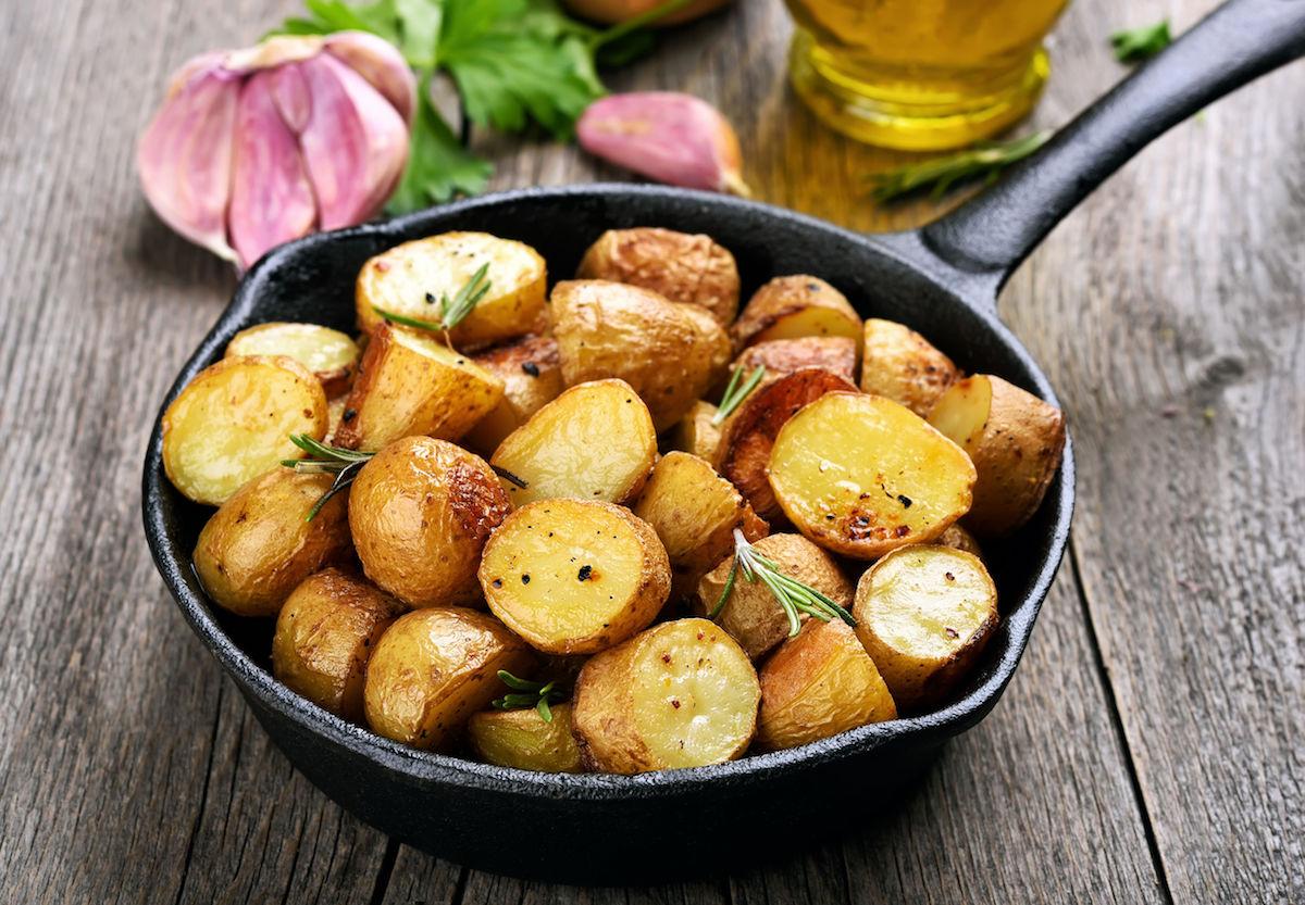cartofi la cuptor