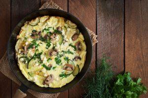 omleta cu ciuperci, beneficii ciuperci