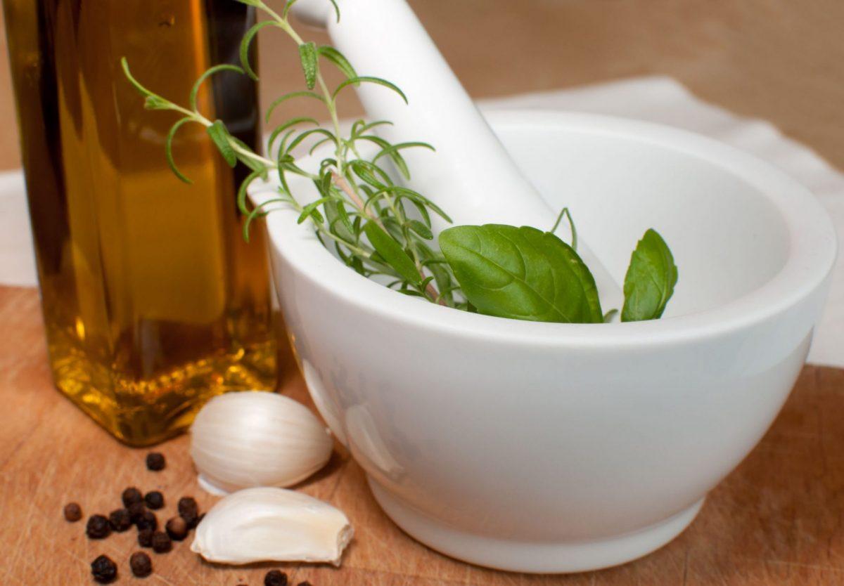 marinada de ierburi aromatice si ulei de masline