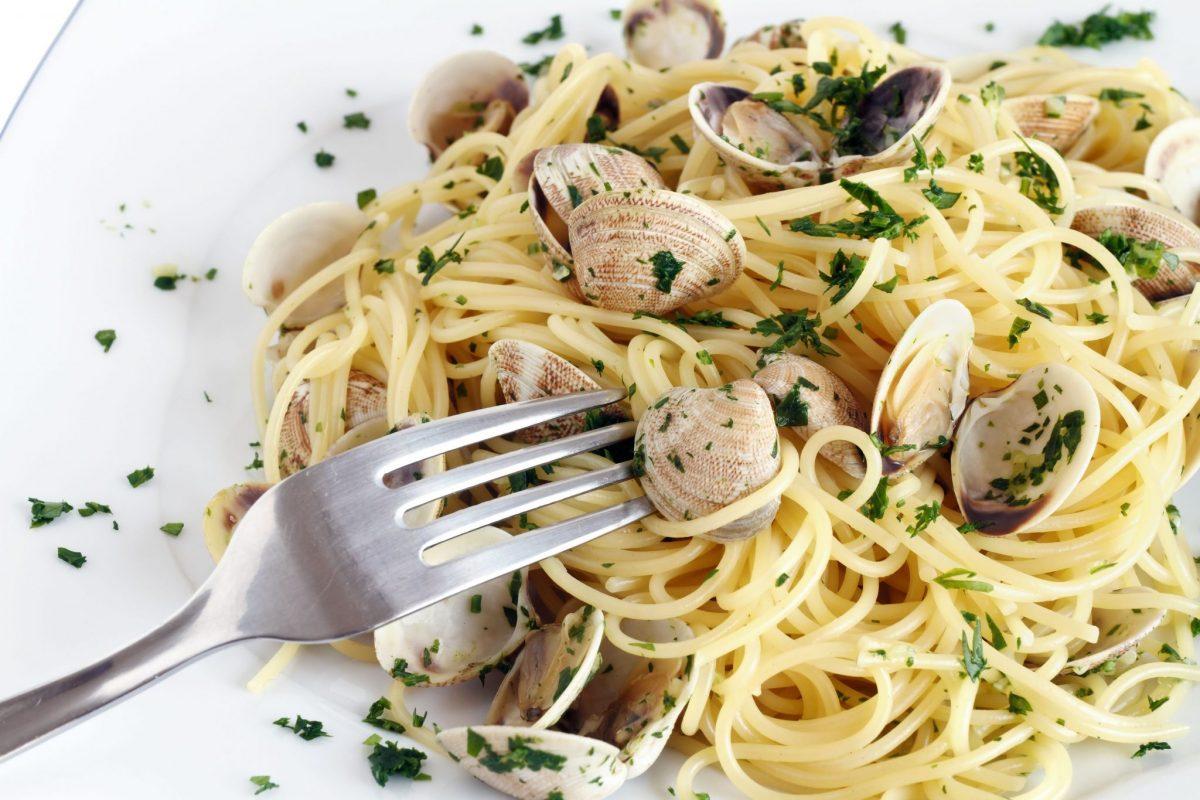 spaghete cu vongole Gordon