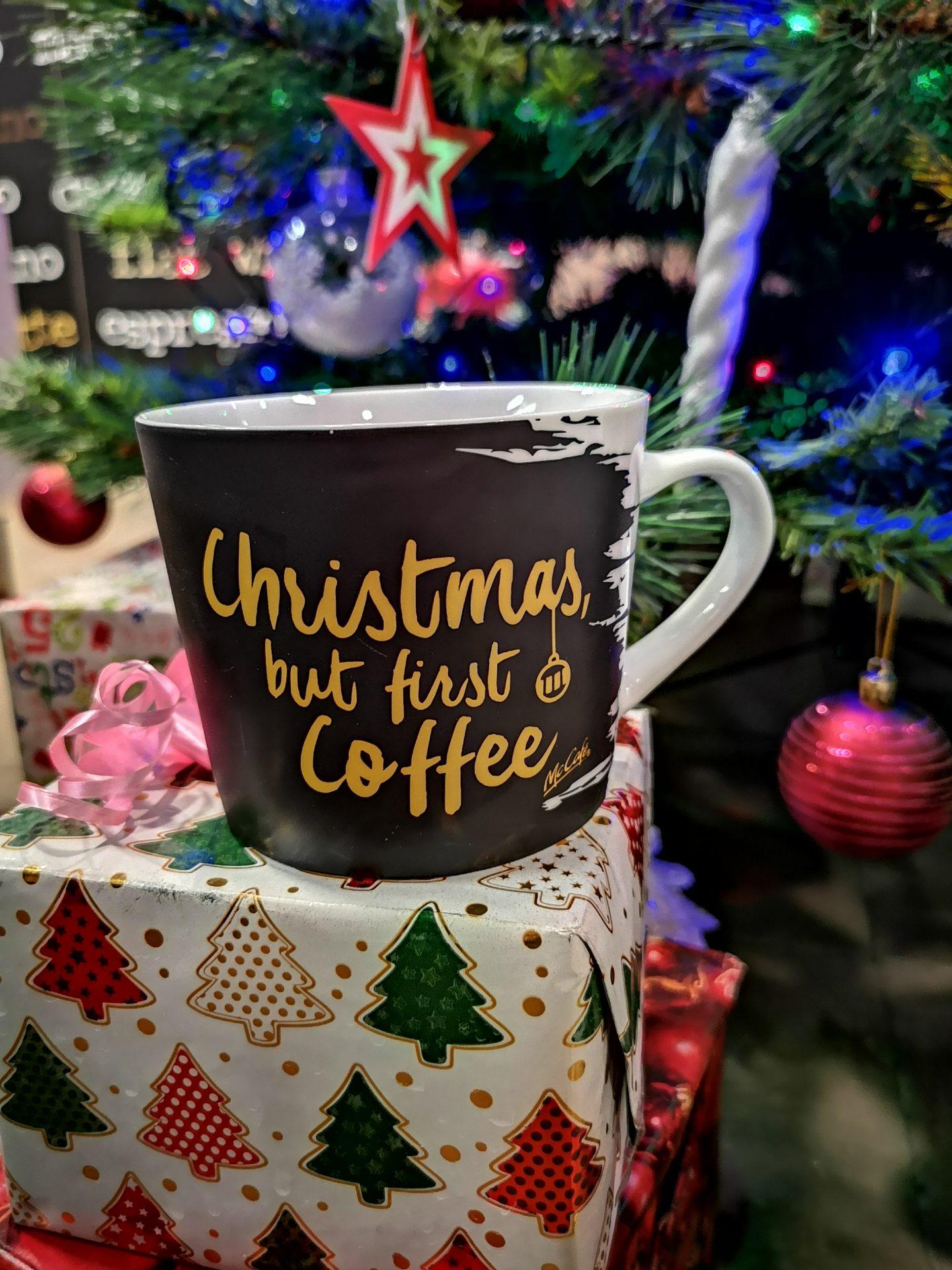 McCafe Christmas Cup