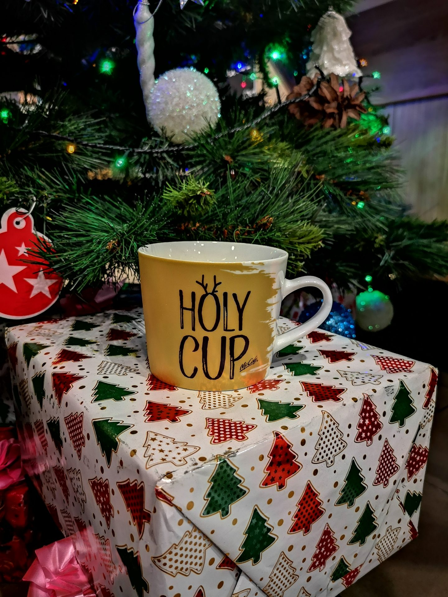 McCafe Holy Cup