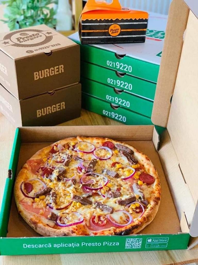 Comanzi o pizza