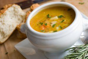 supa de pui cu tarhon