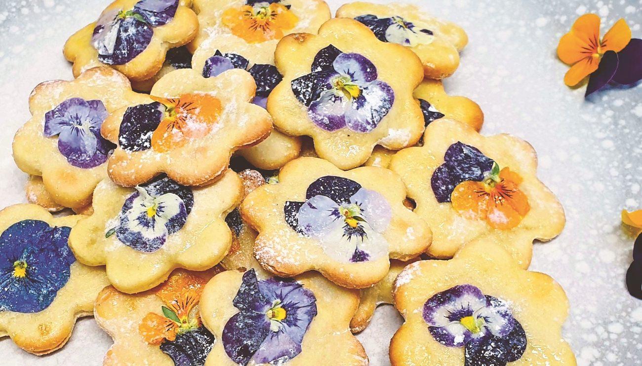 biscuiti cu flori