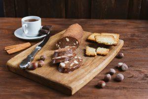 salam de biscuiti cu Prosecco