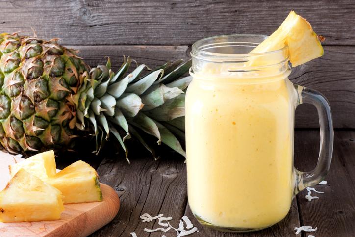 smoothie ananas migdale