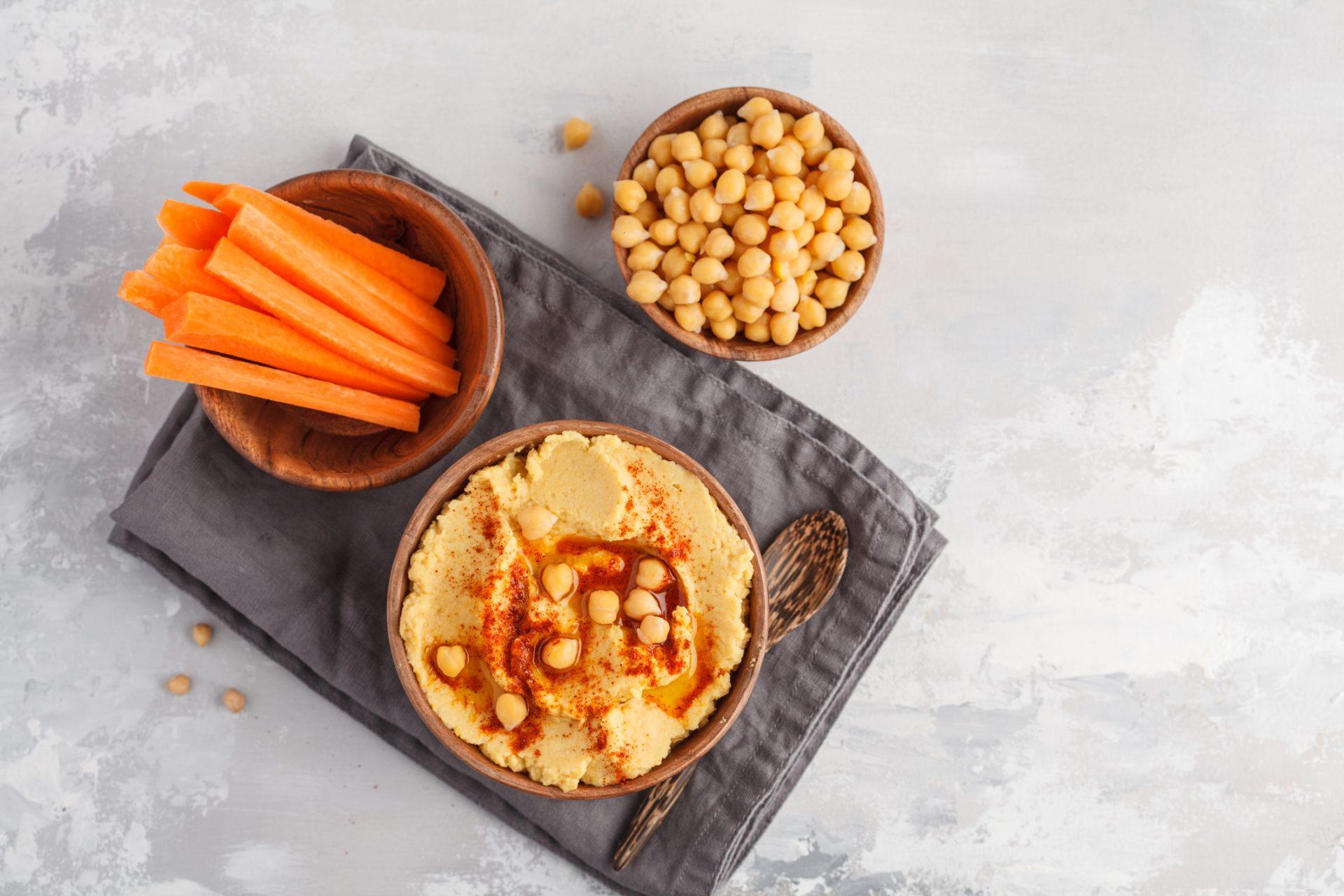 humus si morcovi