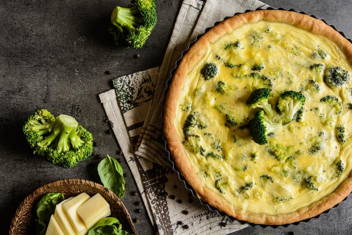 tarta broccoli