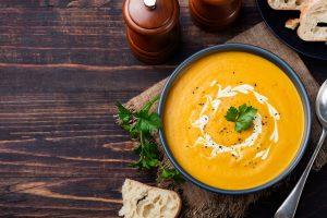 Supa crema de morcovi