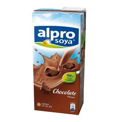 Bautura din soia cu aroma de ciocolata 1l alpro ecuisine for Alpro soja cuisine