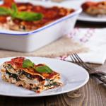 lasagna cu tofu si spanac